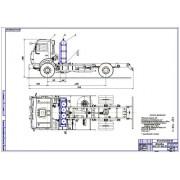 Перевод на газ КамАЗ-43253