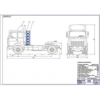 """Дипломная работа на тему """"Применение компримированного природного газа в качестве моторного топлива для автомобиля МАЗ-543208"""""""