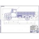 Модернизация системы питания автомобиля ГАЗ-3309 (для перевозки баллонов) для работы на компримированном природном газе