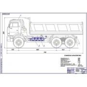 Модернизация системы питания автомобиля КамАЗ-6520-60 для работы на компримированном природном газе