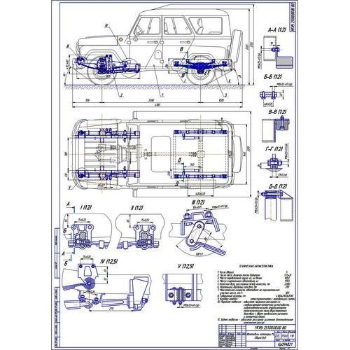 Дипломная работа на тему Усиленная передняя и задняя подвеска УАЗ  Дипломная работа на тему Усиленная передняя и задняя подвеска УАЗ 3151 Хантер