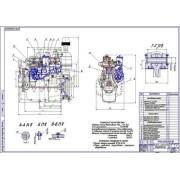 Перевод двигателя Д-245 на метил