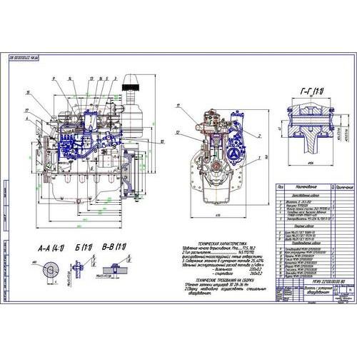 Дипломная работа на тему Перевод двигателя Д на метил