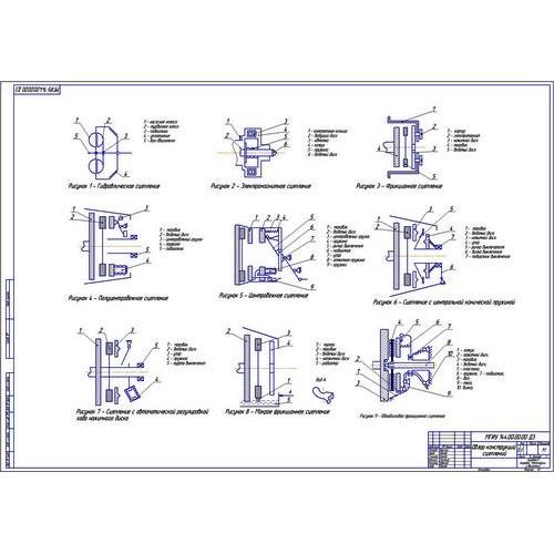работа на тему Двухдисковое сцепление на автомобиль категории М  Дипломная работа на тему Двухдисковое сцепление на автомобиль категории М1