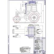 Перевод трактора МТЗ-82 на газ