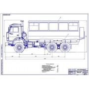 Улучшение эксплуатационных показателей автобуса НЗАС-4208 путем применения сжатого природного газа