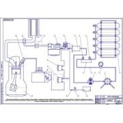 Модернизация системы питания автомобиля MA3-533608 для работы на компримированном природном газе