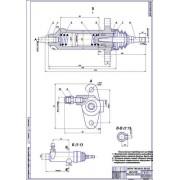 Тормоза стояночные гидравлические ВАЗ-2114 (Задние дисковые тормоза)