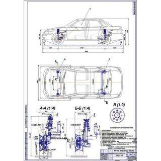 Дипломная работа на тему Модернизированная подвеска ВАЗ-21730