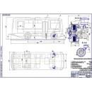 Передние дисковые тормоза автобуса ПАЗ-3205
