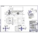 Тросовый механизм переключения передач ГАЗ-33021