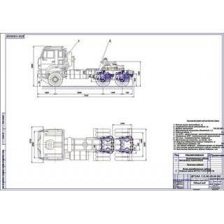 Дипломная работа на тему Задняя пневмоподвеска КамАЗ-65225