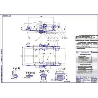 """Дипломная работа на тему """"Задняя электронно-регулируемая подвеска М1"""""""