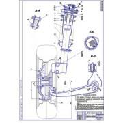 Передняя независимая подвеска с регулировкой жёсткости ВАЗ-1118 (Лада Калина)