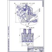 Ремонт коромысла головки цлиндров двигателя Д-37, дефекты 4,5
