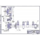Ремонт механизма распределения толкателя клапана двигателя Д-37, дефекты 1,2
