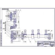 Ремонт распределительного механизма фланца шестерни двигателя Д-37, дефект 1