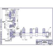 Ремонт кулачкового вала газораспределительного механизма двигателя Д-37, дефекты 3,4