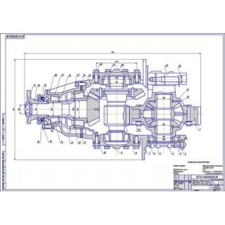 Главная передача и дифференциал ЗиЛ-4314