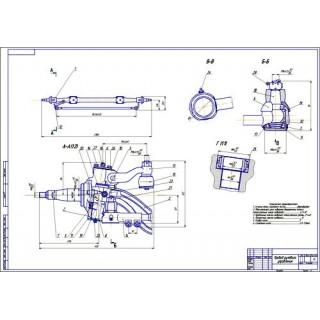 Привод рулевого управления КамАЗ
