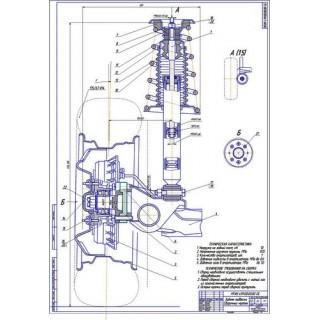 Модернизированная задняя подвеска ВАЗ-2114 с отрицательным углом