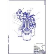 Двигатель Д-245, поперечный разрез