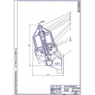 Масляный фильтр двигателя Д-37