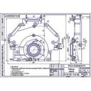 Крышка передняя блок-картера двигателя СМД-60, 62, 64