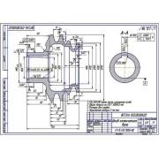 Шкив коленчатого вала двигателя СМД-60, 62, 64