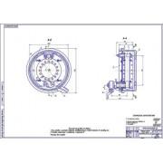 Задний тормозной механизм КамАЗ-4310