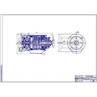 Гидромеханическая КПП автобуса
