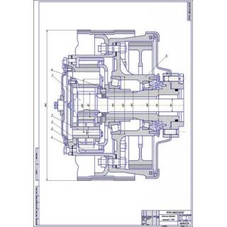 Колёсный редуктор Т-150 К