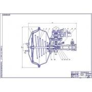 Гидровакуумный усилитель тормозов ГАЗ-53А