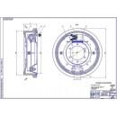 Задний тормозной механизм УАЗ-3160