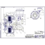 Передний тормозной механизм дисковый на ПАЗ-3205