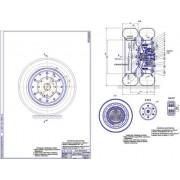 Мотор-колесо на ГАЗ-2705