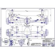 Задняя подвеска ГАЗ-3110