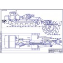 Экскаватор траншейный роторный ЭТР-134