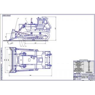Трактор Т-500