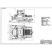 Бульдозер Т-330 общий вид