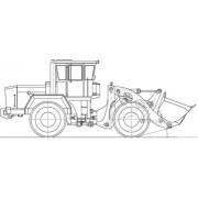 Погрузчик-бульдозер К-702