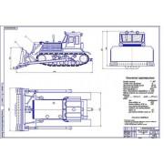 Бульдозер Т-180