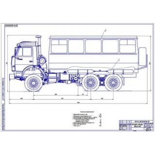 Автобус КамАЗ общий вид