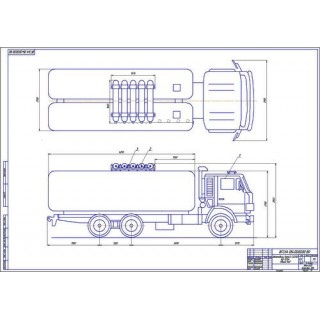 КамАЗ-532130 КО-505А общий вид