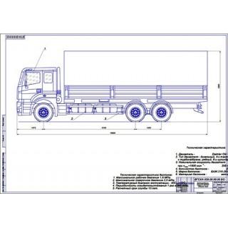 КамАЗ-65207 общий вид