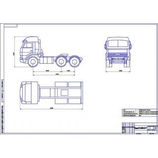 КамАЗ-6460-017 общий вид