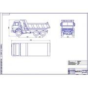 КамАЗ-65111 общий вид