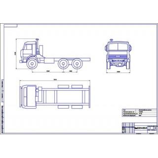 КамАЗ-43114-1015-15 общий вид