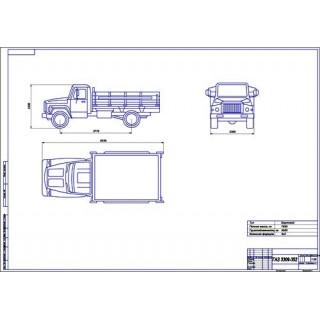 ГАЗ-3309-352 общий вид