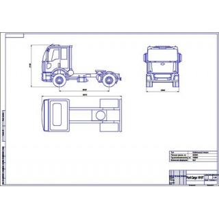 Ford Cargo 1810T общий вид